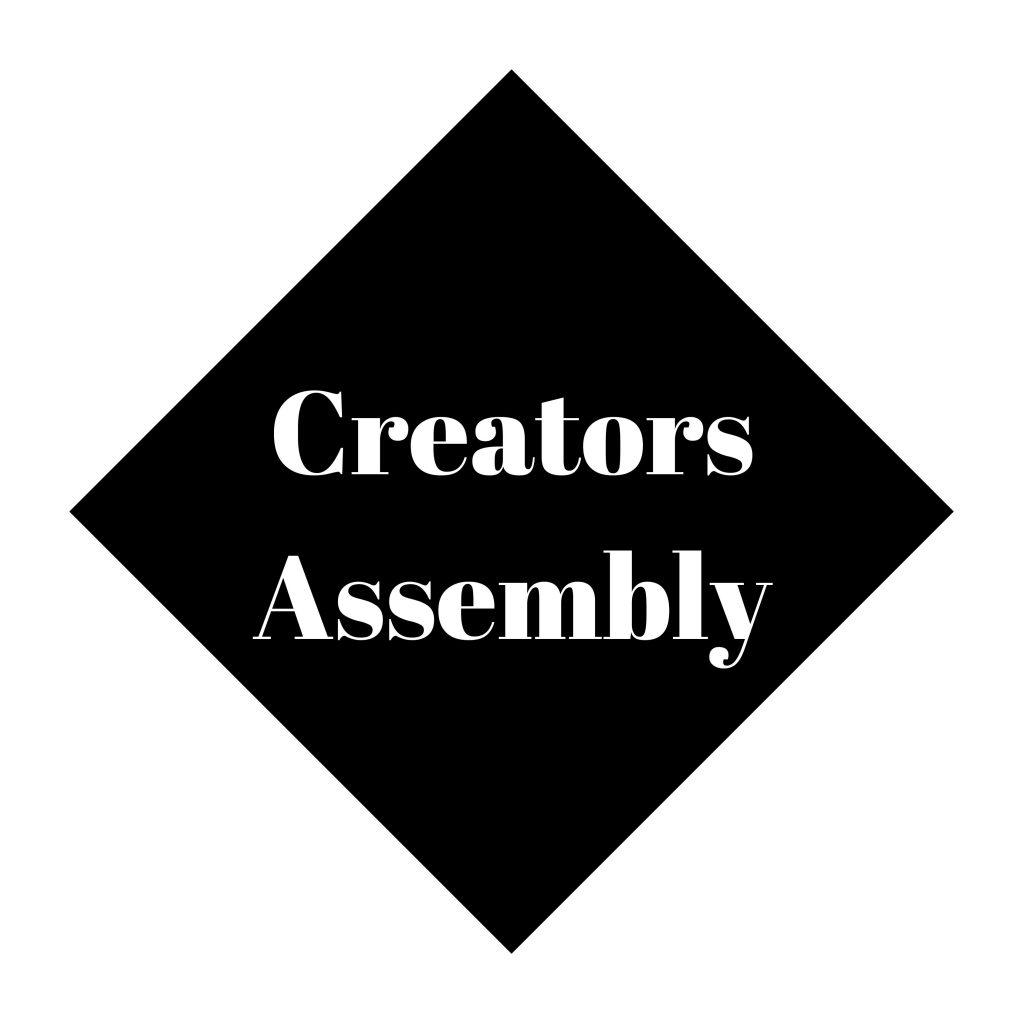 Creators Assembly Logo - Black - 300dpi