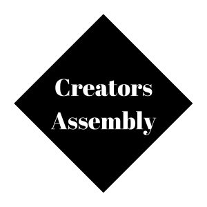 Creators Assembly Logo - Black - 300dpi